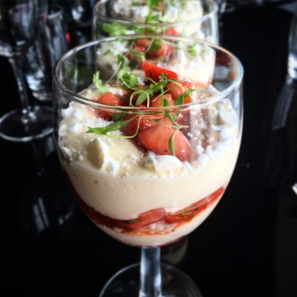 Fragrant Strawberry Syllabub