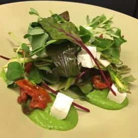 Pea / Feta / Asparagus / Salad