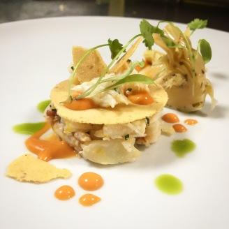 Crab Mille Fuille / Pepper / Artichoke