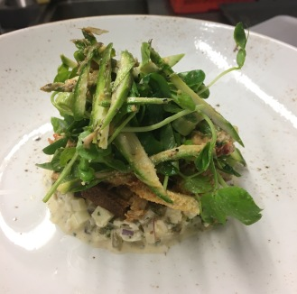 Fresh Crab Salad / Sauce Gribiche / Brown Crab Mayo / Asparagus / Watercress