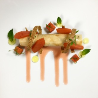 Celeriac / Crab / Quince / Lemon / Mint