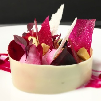 Goats Cheese / Beetroot / White Chocolate